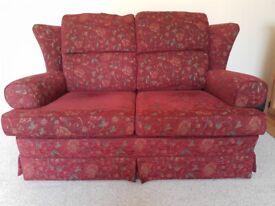 Quality 3 & 2 seater sofas plus armchair
