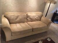 Pristine Cream DFS sofa
