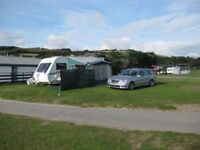 midi caravan awning with IXL poles