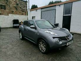 Nissan juke, auto, £8595.00 ovno, low mileage 10,500 , still under manufacturer warranty, sat nav