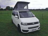 VW T5 Transporter pop top 4 berth for hire LINCOLN