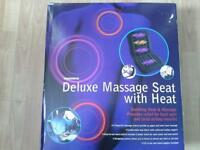 Deluxe massage seat with heat for car or home