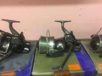 Daiwo infinity-x 5500 BR carp fishing reels
