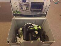 Festool TS55 REBQ Plus 240v Plunge Saw