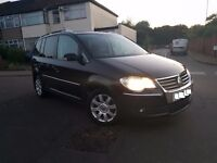 VW TOURAN 2.0 TDI SPORT AUTO DSG, 7 SEATER, (57PLATE) TOP SPEC MINT CONDITION PX WELCOME