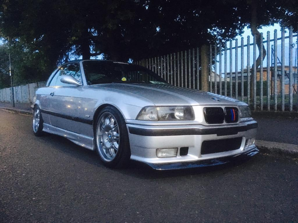 Bmw E36 323i 2 5 Convertible M3 Replica M50 Tuned Modified