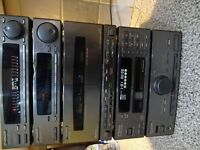 Pioneer Multiplay CD stack system separates - with Remote control