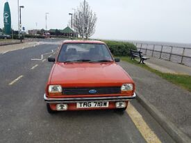 Fiesta MK1 all original 1 Owner
