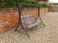 Garden Swing Seat 3 seater