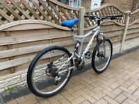 GT idrive 3 full suspension mountain bike