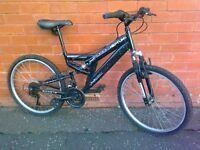 Muddy fox mountain bike - full suspension !