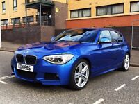 BMW 125D M Sport - Prof Media & sat nav, heated seats and xenons. not 116, 118, 120