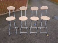4 New Bar Stools FREE DELIVERY 486