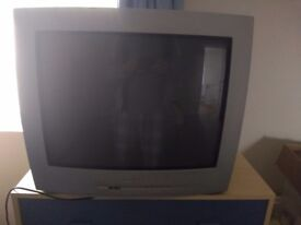 Panasonic 20.5 inch Silver TV with remote
