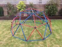 Lifestyle climbing frame dome - much better quality than TP