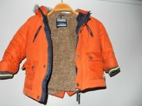 next kids coat puffy jacket 2-3 YRS