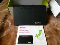 Talk talk wireless broadband Internet router