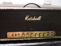 Vintage Marshall Super Bass 100W 1974 original tolex