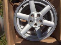 x 4 Jeep Cherokee wrangler libery 17 inch Alloy wheels oem used 17x7.5j 110mm