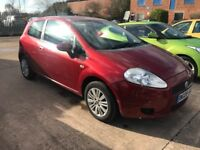 2008 FIAT GRANDE PUNTO ++ELEGANZA++ 1.4 AUTOMATIC++LOW MILES AT 66K++FSH++BARGAIN++CHEAPEST ANYWHERE