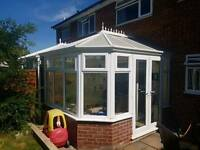 UPVC 2 Sided conservatory