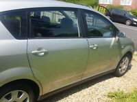 TOYOTA VERSO 1.8 VVTI SILVER, Nice reliable family Car