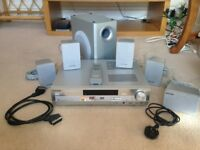 Panasonic 5 Disc DVD 5.1AV Home Theater System SA-HT75 with Remote Control