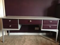 Stag dressing table painted in autentico chalk paint