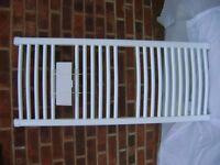 TOWEL RADIATORS WHITE & CHROME BRAND NEW VGC