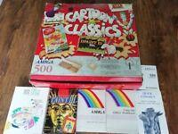 Cartoon Classics Amiga 500 Plus - Working - plus loads of Games!