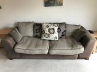2x Large 4 seater Sofas - FREE - Pick up only