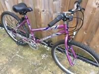 "Ladies 17"" Sabre bike bicycle. Inc FREE lights & delivery"