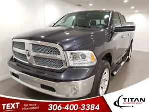 2015 Ram 1500 Limited Longhorn|Eco Diesel | Cam|Leather