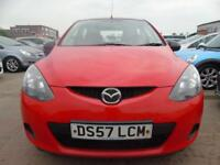 MAZDA 2 1.3 TS 5d 74 BHP PETROL 1 OWNER FROM NEW FULL SERVICE **3 MONTHS WARRANTY INCLUDED** 2008