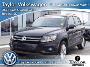 2016 Volkswagen Tiguan Special Edition 2.0T 6sp at w/Tip 4M Chri
