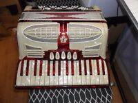 small 80 bass midi accordion