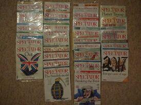 """""""The Spectator"""" Magazine - 31 Brand New Sealed Magazines - £130 Value"""
