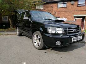 Subru Forester xt turbo. Like impreza wrx sti