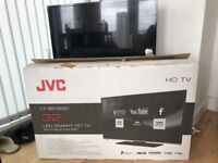JVC LT-32C650 32 INCH WITH BUILT-IN WIFI. LED SMART TV.