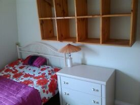 Large double room, No fees no Coun' tax clean bright furnished luxury Northend flat. Elec bills only