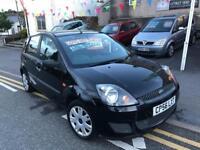 2006 56 plate Ford Fiesta 1.25 style, 5 door, new mot, lovely car