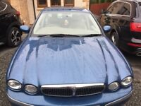 (((LOW GUARANTEED MILEAGE ))) JAGUAR X-TYPE 2.0 FULL SERVICE HISTORY*VERY CLEAN CAR*MOT- 08/06/2018*