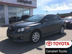 2010 Toyota Corolla S  MOON ROOF--HEATED LEATHER--REAR SPOILER--