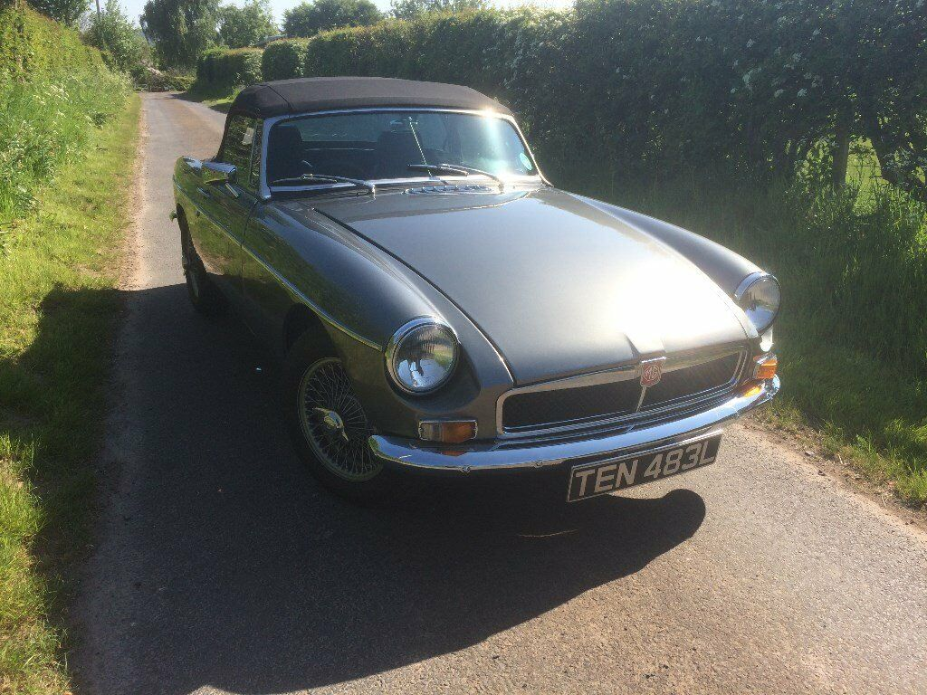 MGB Roadster 1972 fully restored full MOT free road tax Classic Car ...