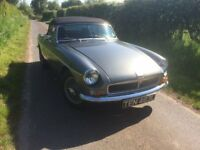 MGB Roadster 1972 fully restored full MOT free road tax Classic Car