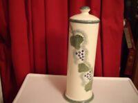 POOLE POTTERY Vineyard (now discontinued) SPAGHETTI jar.