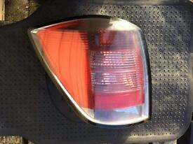 2008 Vauxhall Astra 5 Estate n/s (passenger) Rear Light