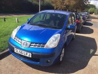 NISSAN NOTE BLUE MOT UNTIL FEB 2018 NICE AND CLEAN