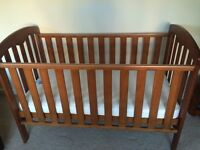 John Lewis Rachel Cot Bed (Very Good Condition from Pet and Smoke Free Home)