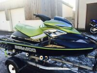 Jet Ski Seadoo RXP, Excellent Condition, very low hours, Green and Black